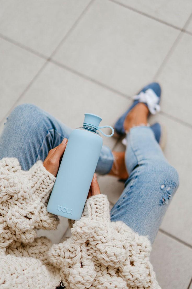Eco-Lifestyle-Doli-Bottles-nachhaltige-Trinkflasche-serenity-Glas-Flasche-Zero-Waste-Verlosung-Gewinnspiel