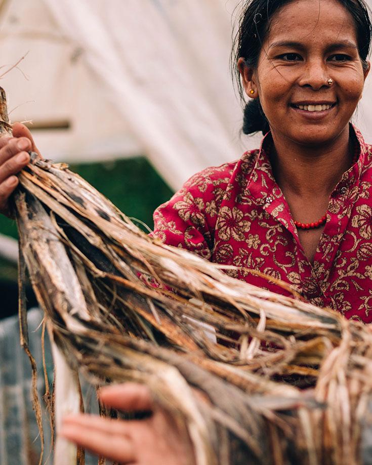 Peppermynta, Hemper, faire Rucksäcke made in Nepal, fairtrade, Fair Fashion Rucksack