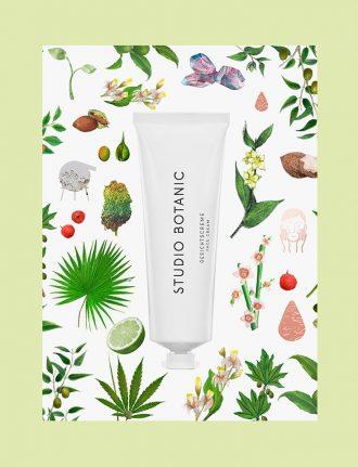 Studio Botanic Gesichtscreme – Vegane Naturkosmetik mit Hanf-Öl