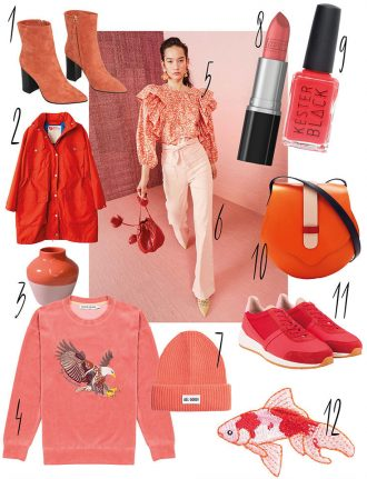 Pantone Living Coral – Eco Lifestyle Trend Lieblinge in Koralle