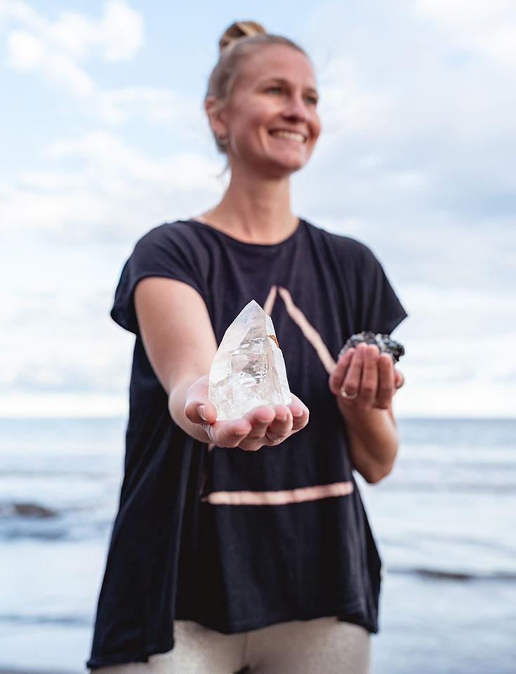 Fair Trade Kristalle – nachhaltige Mineralien von Crystal Soul: Carla Sophie Tiemann