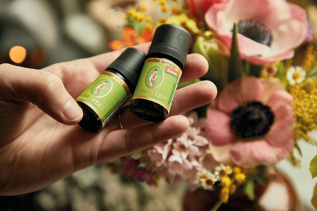 Primavera Aromatherapie – Düfte der Lüfte und ihre Wirkung: Diffuser, Duftstein, Vernebler, Zirbenkugel, Aromaöle für Entspannung und Konzentration