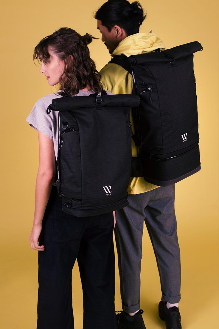 Wayks Rucksack – Ein nachhaltiger Eco Backpack: Travel Backpack, Day Pack und Cube