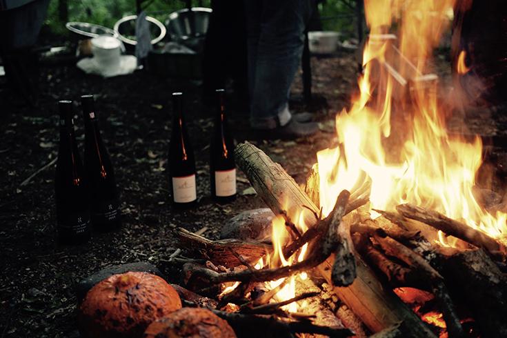 Witterung – ein kulinarisches Festmahl unter freiem Himmel: Feuer
