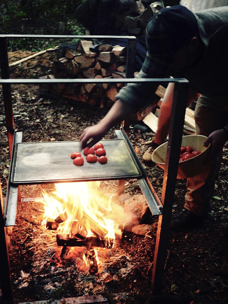 Witterung – ein kulinarisches Festmahl unter freiem Himmel: grillen am Grill