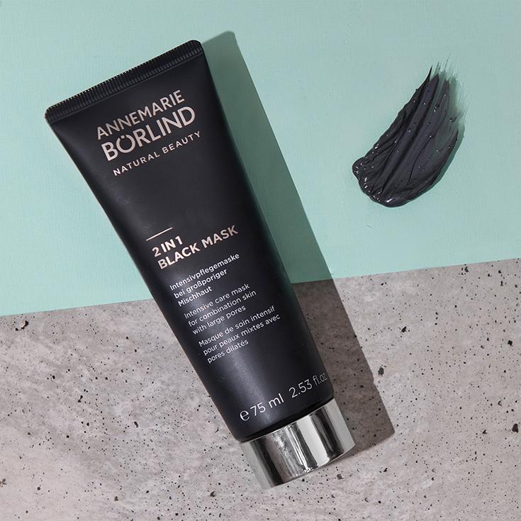 Black Mask Annemarie Börlind Natural Beauty – Wir feiern 60 Jahre Naturkosmetik. Verlosung Systempflege LL Regeration