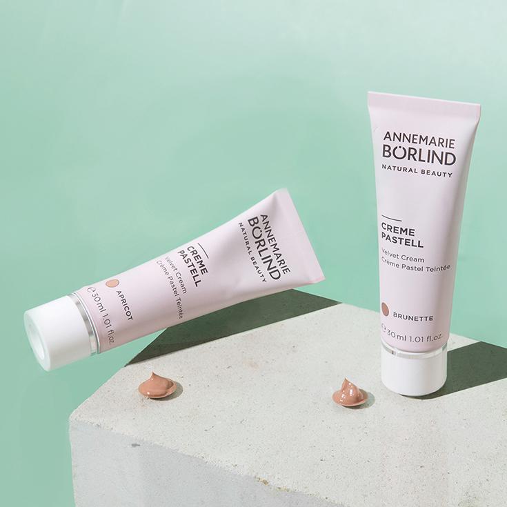 Creme Pastell Annemarie Börlind Natural Beauty – Wir feiern 60 Jahre Naturkosmetik. Verlosung Systempflege LL Regeration