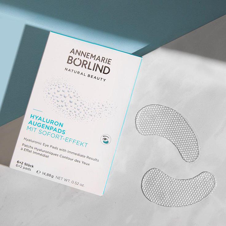 Augenpads Annemarie Börlind Natural Beauty – Wir feiern 60 Jahre Naturkosmetik. Verlosung Systempflege LL Regeration