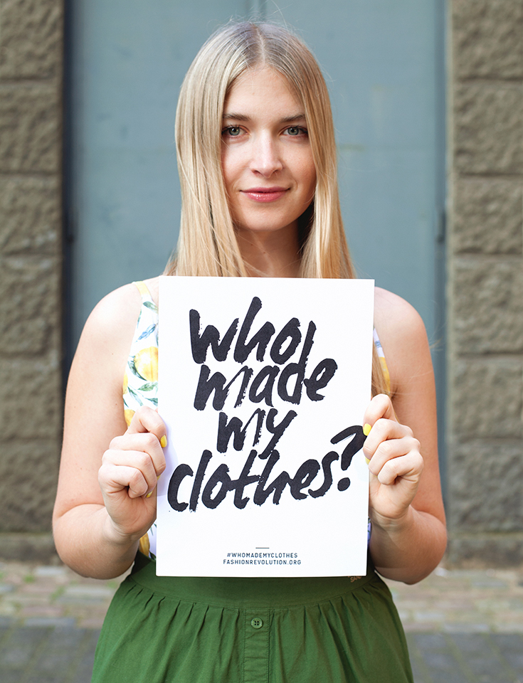 Fashion Revolution Week 2019 #whomademyclothes: Charlotte Weise trägt Fair Fashion von Vanilla Sand
