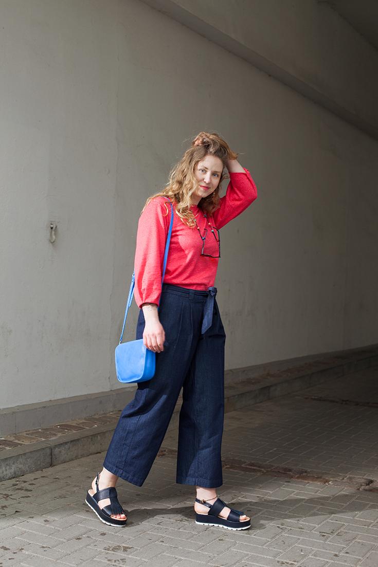 Fashion Revolution Week 2019 #whomademyclothes: Lara Keuten, Redaktionsleiterin bei Peppermynta, trägt Fair Fashion von Hessnatur