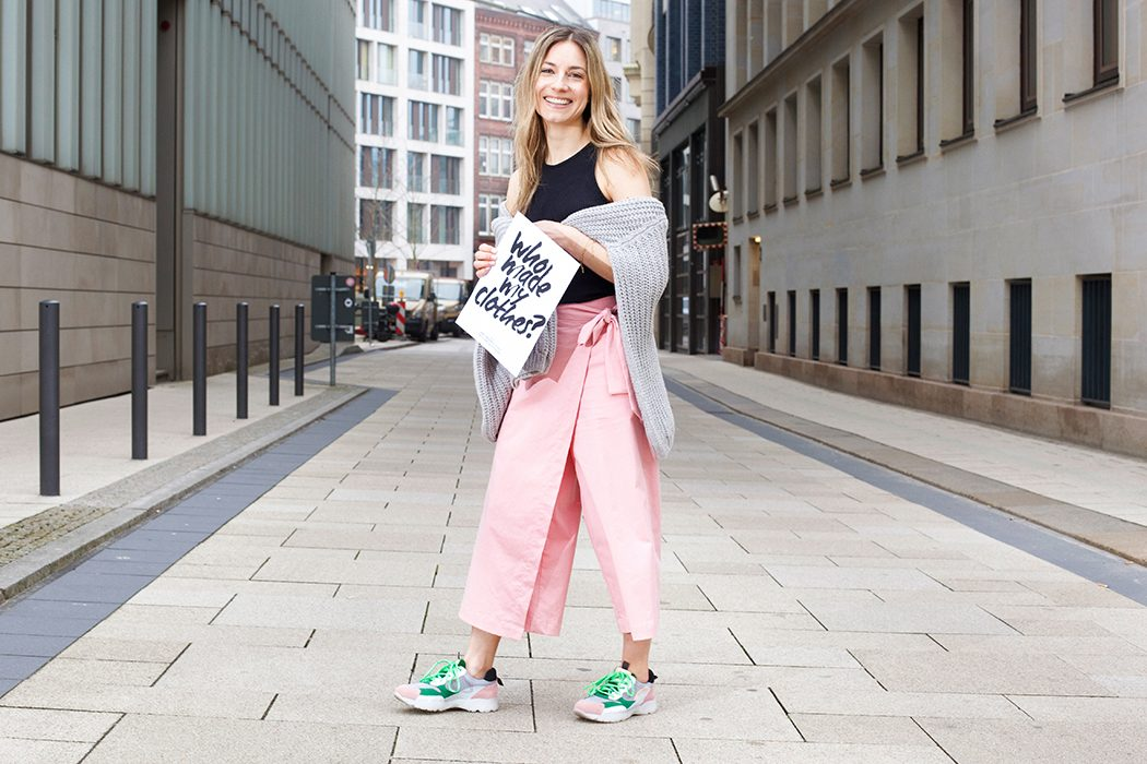 Fashion Revolution Week 2019 #whomademyclothes: Lynn Hoefer von Heavenlynnhealthy trägt Lanius und Lovjoi
