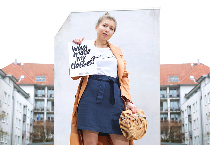 Fashion Revolution Week 2019 #whomademyclothes: Wiebke Kaiser von Sloris trägt Recolution, Merijula x Soulsister und Vanilla Sand