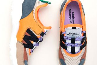 Maison Mangostan – Eco Sneaker für große und kleine Fair Fashionistas: Goji Gauzy Orange, Kumquat Orange