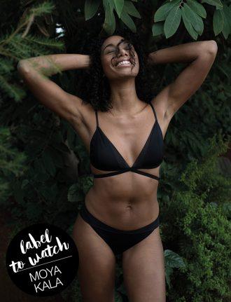 Moya Kala – Recycelte Fair Fashion Unterwäsche aus der Schweiz: Triangle Bralette