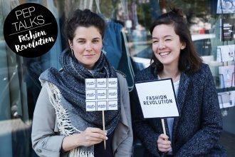 #whomademyclothes Fashion Revolution Week 2019 – Eine Bewegung für faire Mode und gegen Fast Fashion: Ariane Piper und Hanna Sin Gebauer (Gründerin von Dzaino)