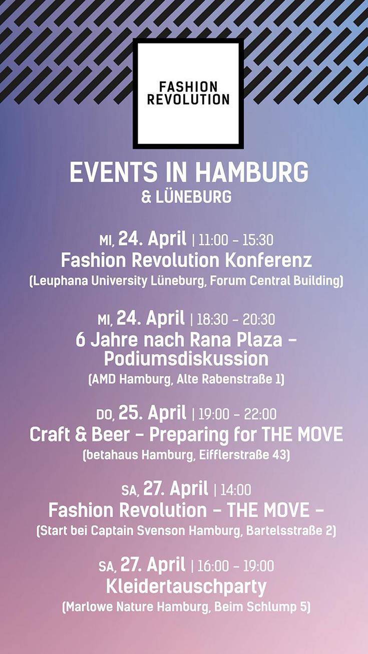 Fashion Revolution Week 2019 – Eine Bewegung für faire Mode und gegen Fast Fashion: Termine und Events in Hamburg