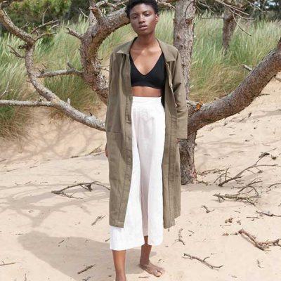 Peppermynta Brandfinder: Beaumont Organic. Das britische Fair Fashion Label fertigt ethische Luxus Mode für Frauen
