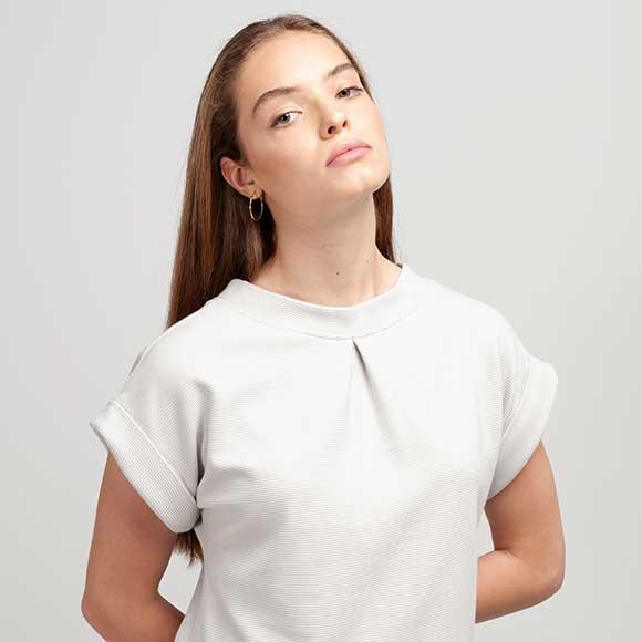 Peppermynta Brandfinder: Shipsheip. Öko-faires Label, fair trade in Indien produziert, Fair Fashion Basics