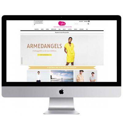 Peppermynta Brandfinder: Glore Online Shop. Der Glore Green Fashion Store bietet eine große Auswahl an fairer Mode, Bio Kosmetik und Lifestyle Produkten. Bei Glore findet ihr nachhaltige Mode und Accessoires für einen grünen Lifestyle.