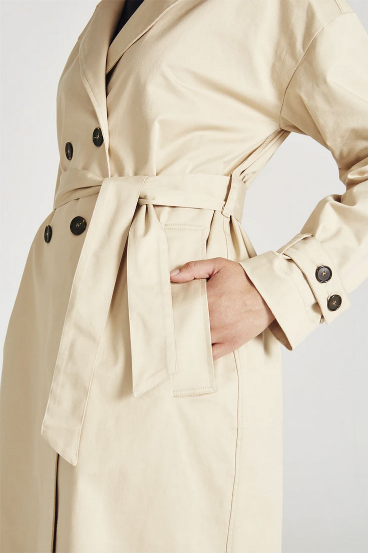 Fair Fashion Trench Coat – Unsere liebsten Trenchcoats für den Sommer: Givn Berlin