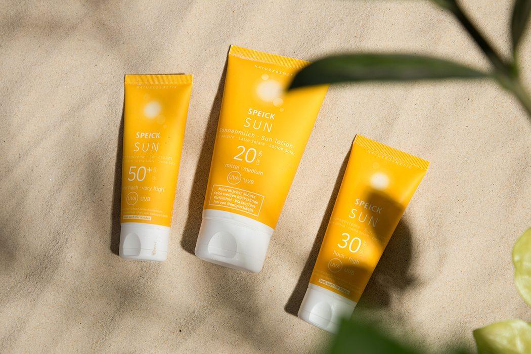 Speick Sun – Mineralische Sonnenpflege ohne Weiß-Effekt: natürliche Sonnenpflege, wasserfester Sonnenschutz, vegane Sonnencreme, Sonnenlotion ohne Nanopartikel