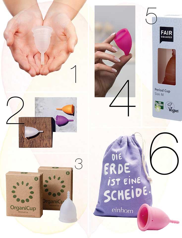 Menstruationstasse statt Tampon-Masse – Unser Period Cup Guide