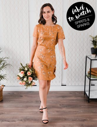 Spirits & Sparks – Slow Fashion Made in Germany: Kleid Nancy