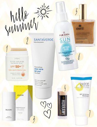 Natürliche Pflege und Natural Beauty: Natürlicher Sonnenschutz für Haut und Haare
