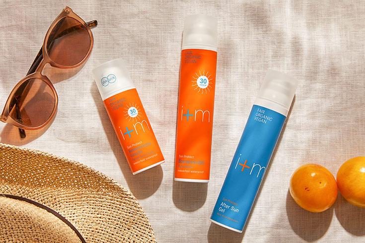 i+m Naturkosmetik – Natürliche Sonnenpflege für Gesicht & Körper