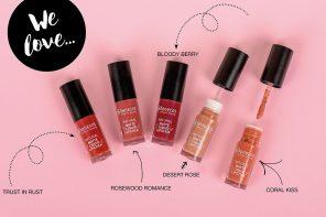 benecos Naturkosmetik – Die neuen matten Liquid Lipsticks