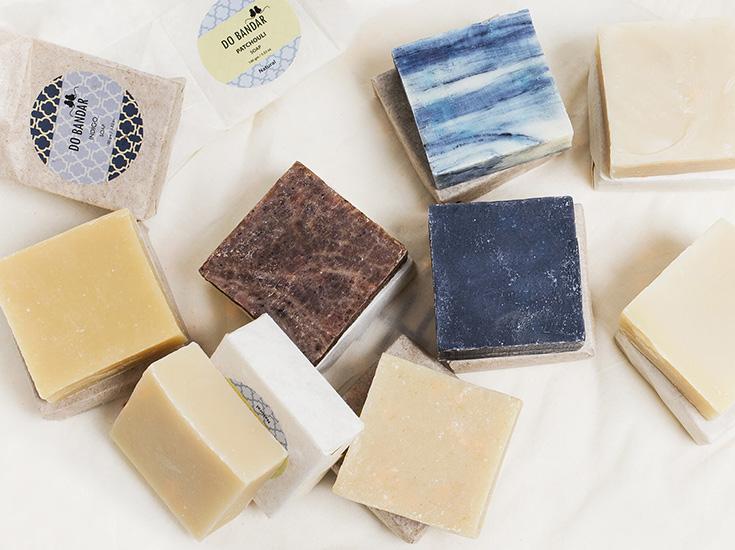 Indian Goods Online Shop – Fair Fashion, Naturkosmetik und nachhaltiges Interior aus Indien: Seife, Stückseife