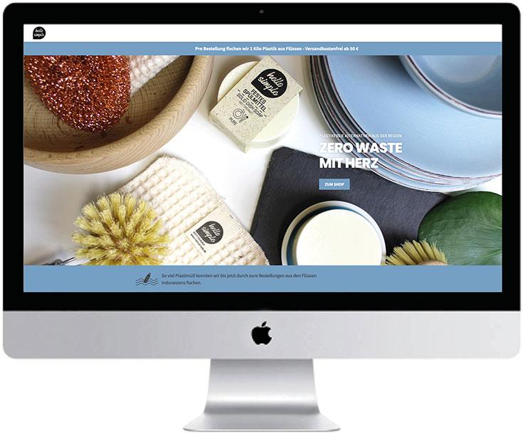 Plastikfrei einkaufen – Unsere liebsten Zero Waste Online Shops: Hello Simple