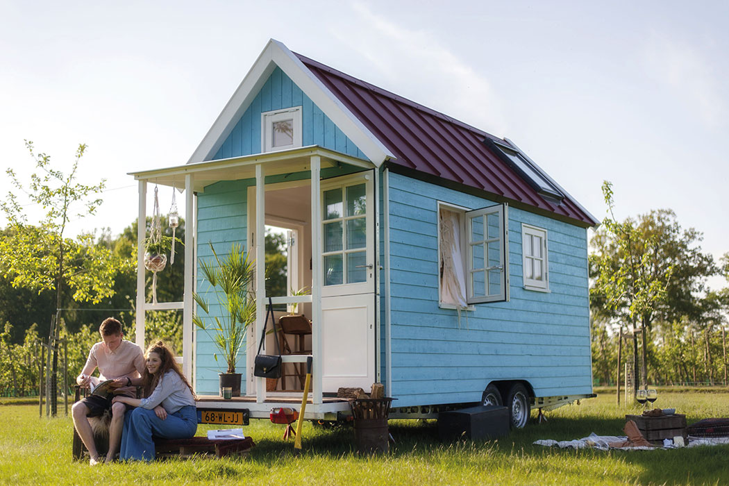 tiny house waterland huisje in eindhoven. Black Bedroom Furniture Sets. Home Design Ideas