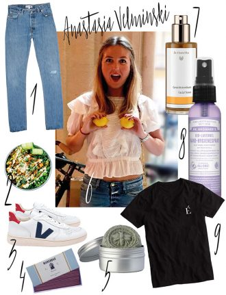 Anastasia Velminski – Meine liebsten Eco Lifestyle Lieblinge-Fair-Fashion-This-is-Jane-Wayne-Veja-Dr-Bronner-Redone-Closed-Dr-Hauschka-Dariadeh-Dariadaria