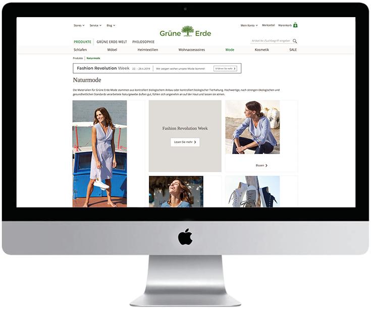 Fair Fashion – Die besten Online-Shops 2019 mit Eco Fashion und grüner Mode: Grüne Erde