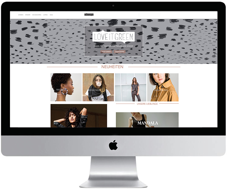 Fair Fashion – Die besten Online-Shops 2019 mit Eco Fashion und grüner Mode: Love it green