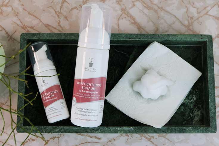 Bioturm Intimpflege – Endlich eine milde Naturkosmetik Intimpflege Serie: Befeuchtungsschaum