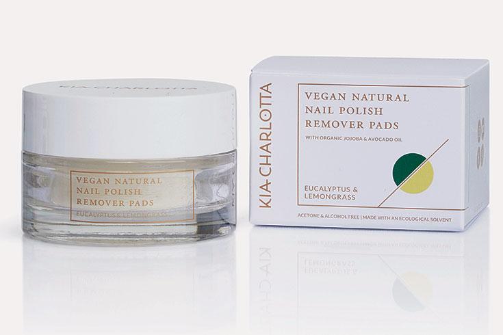 Natural Beauty, natürliche Kosmetik: Naturkosmetik Nagellackentferner – Nail Polish Remover Pads: Kia Charlotta