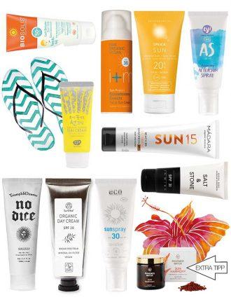 Natural Beauty: Naturkosmetik Sonnenschutz im Test – Unsere Top 10 für 2019