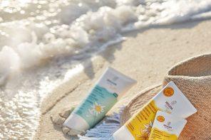 Weleda-Sonnenpflege-Sonnencreme-Sonnenschutz-Apres-Lotion-Edelweiss-Verlosung-Gewinnspie-Strantuch-Badetuch-Round-Beach-Towel