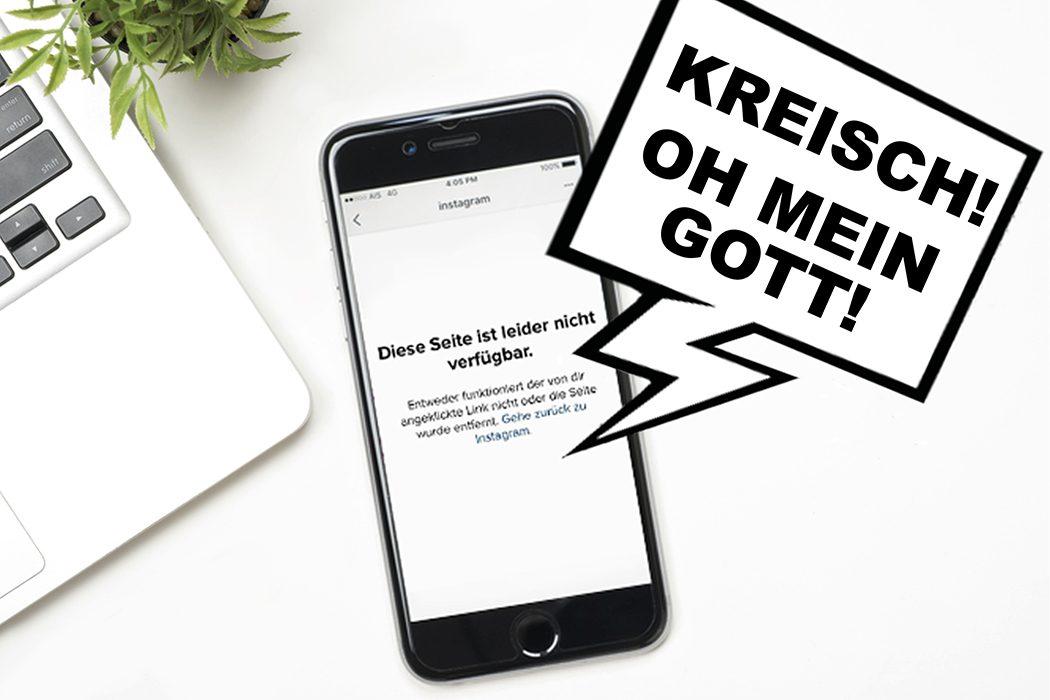 Altes instagram profil löschen ohne passwort und email