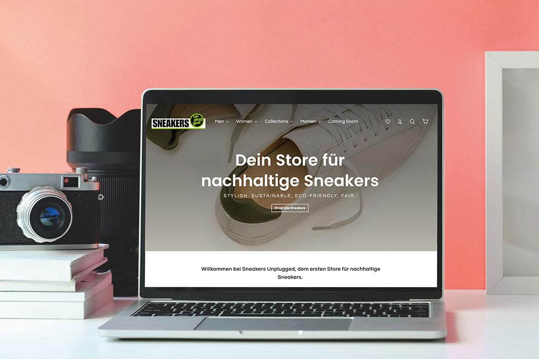 Sneakers Unplugged – der erste nachhaltige Sneaker Store Deutschlands: nachhaltige Turnschuhe, Eco Sportschuhe, fair produzierte Schuhe