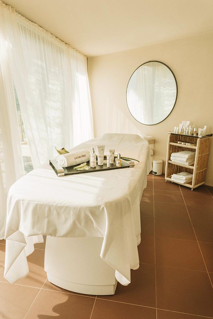 Santaverde Spa auf Mallorca – Entspannendes Treatment mit frischer Aloe-Vera, Wellness, Naturkosmetik Behandlung