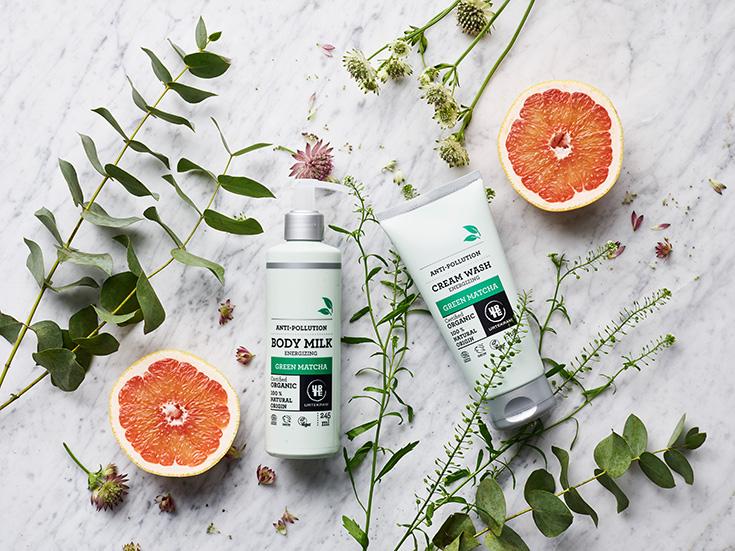 Urtekram Pflegeserie »Green Matcha« – Naturkosmetik und grüner Tee: Bodylotion, Body Milk, Cream Wash