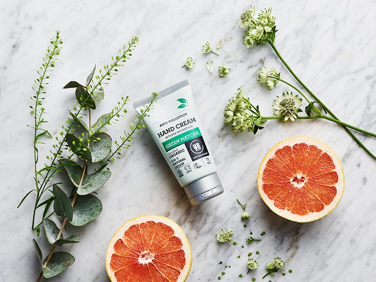Urtekram Pflegeserie »Green Matcha« – Naturkosmetik und grüner Tee: Handcreme, Hand Cream