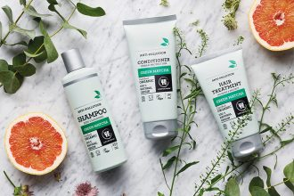 Urtekram Pflegeserie »Green Matcha« – Naturkosmetik und grüner Tee: Shampoo, Conditioner, Hair Treatment, Haarmaske, Haarkur