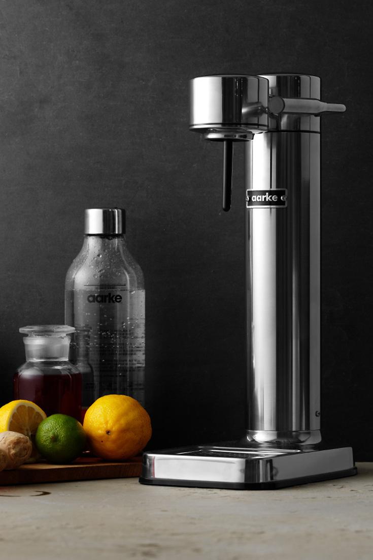 Aarke Carbonator II – Der schönste Wassersprudler aus Edelstahl