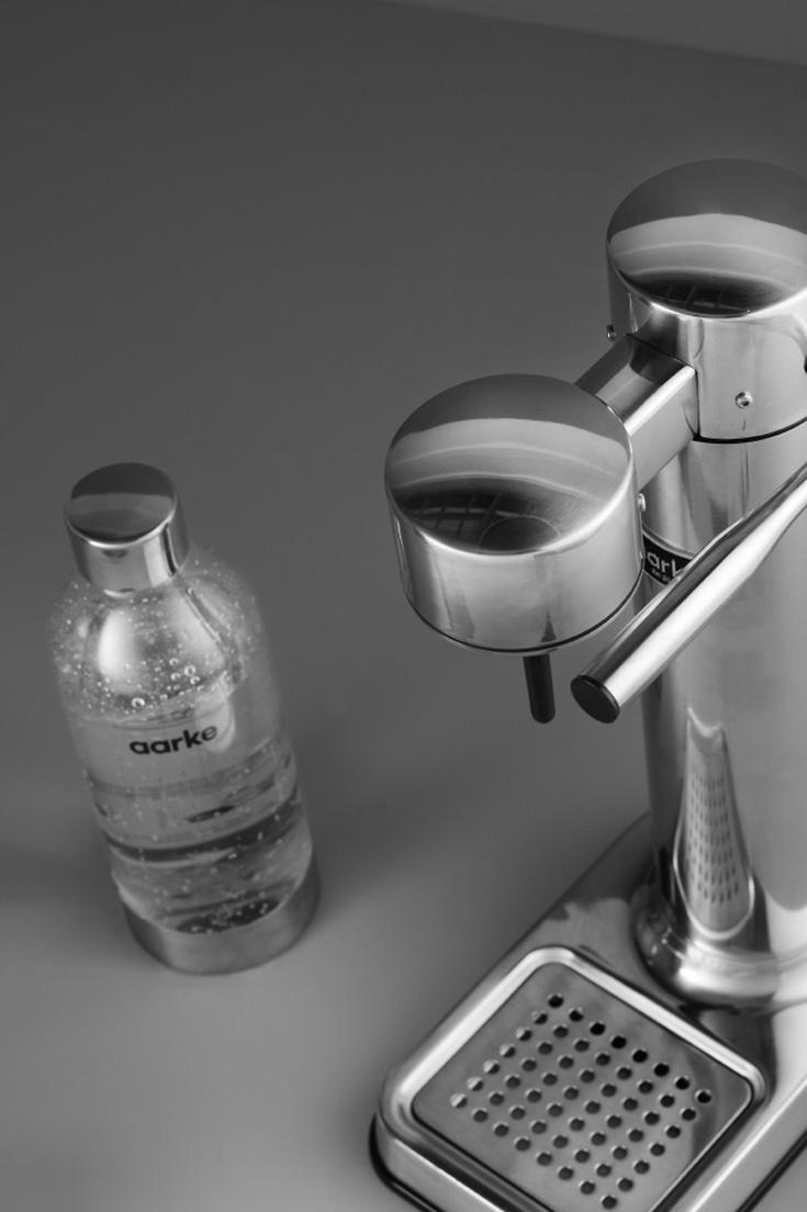 Aarke Carbonator II – Der schönste Wassersprudler aus Edelstahl, die Alternative zu SodaStream