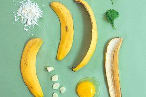 Kochen mit Resten – Rezept für Schnitzel aus Bananenschalen