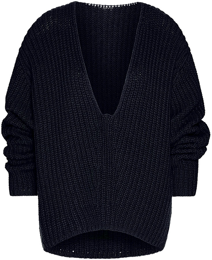 Peppermynta-Peppermint-Fair-Fashion-Pullover-Winter-Knitwear-Pullis-Eco-Pullover-tierleidfrei-Wunderwerk-V-Neck-Shape-Rib